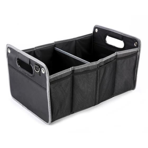 холст стайлинга автомобилей производительность герба большой Ёмкость ящик для хранения транспортного средства черный Цвет складные