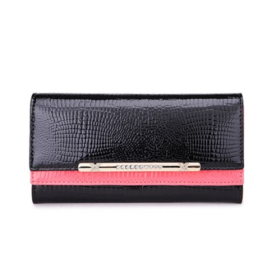 a02fff745f18 Shop Luxury brand female leather wallet European and American ...