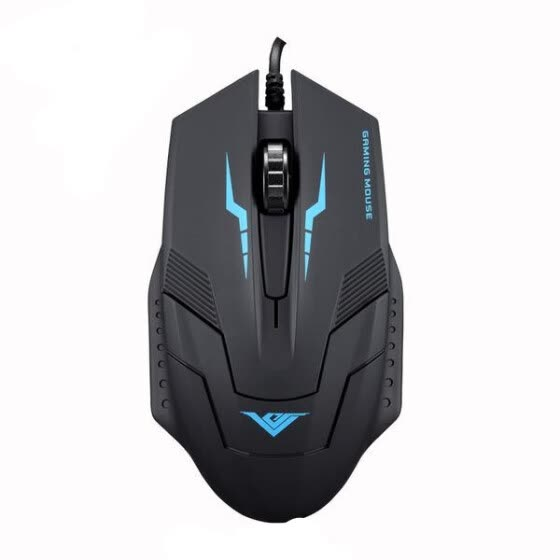 RAJFOO I5X 2400 DPI Optical USB Wired Gaming Mouse Mice For PC Laptop MAC D