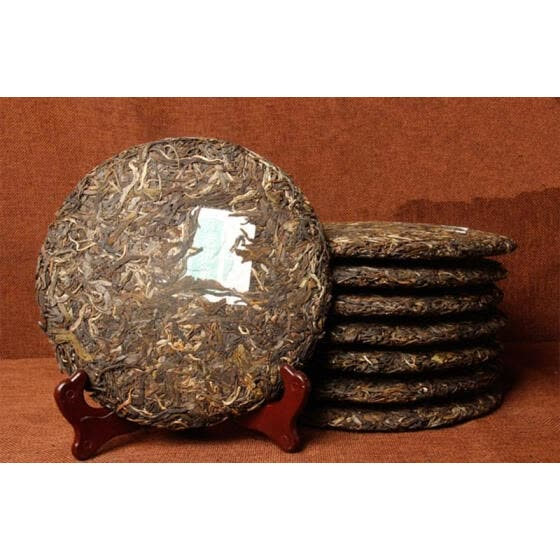 C-PE108 Yunnan Puerh raw tea 357g Ancient trees Puer tea Yunnan seven sub-cake old class old trees