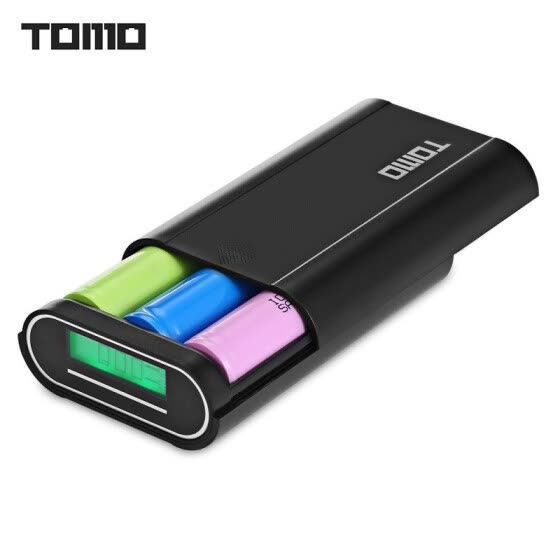 TOMO M3 DIY Smart Power Bank 3 x 18650 Li-ion Battery Charger Custom capacity mobile phone tablet universal mobile power