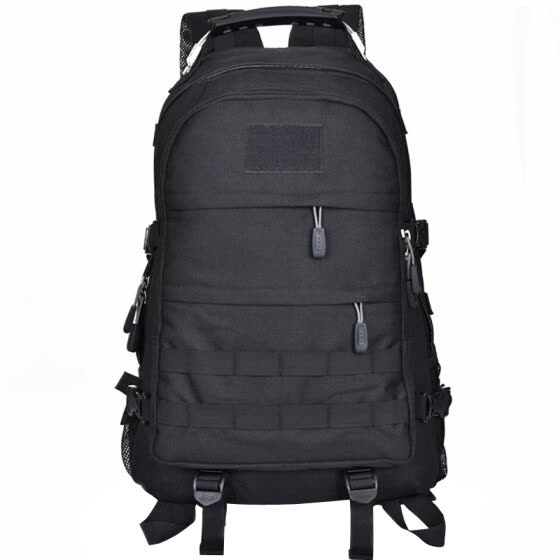 (LOCAL LION) mountaineering bag backpack military fans series backpack shoulder bag wear-resistant fabric wire hand BH507 black 30L