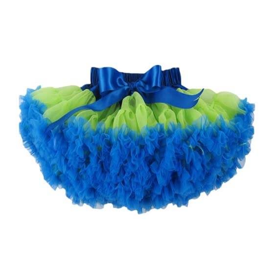 Buenos Ninos Girl's Mix-Color Dance Tutus Chiffon Pettiskirt