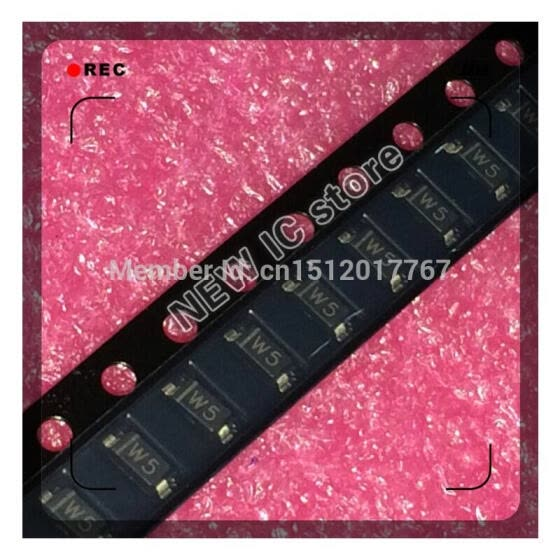 Free shipping 3000pcs/lot BZT52C3V9-7-F BZT52C3V9 3.9V 500MW SOD-123 making W5 100%NEW IC