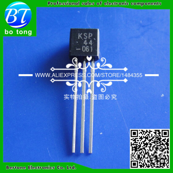 KSP44 NPN Transistors Pack of 5