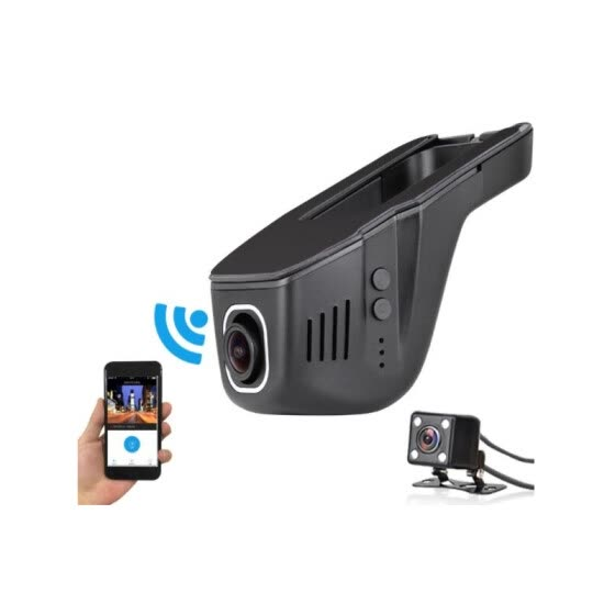 1080P Night Version Novatek 96655 WIFI Car DVR Registrator Digital Video Recorder Camcorder Dash Camera APP Control Dual Lens