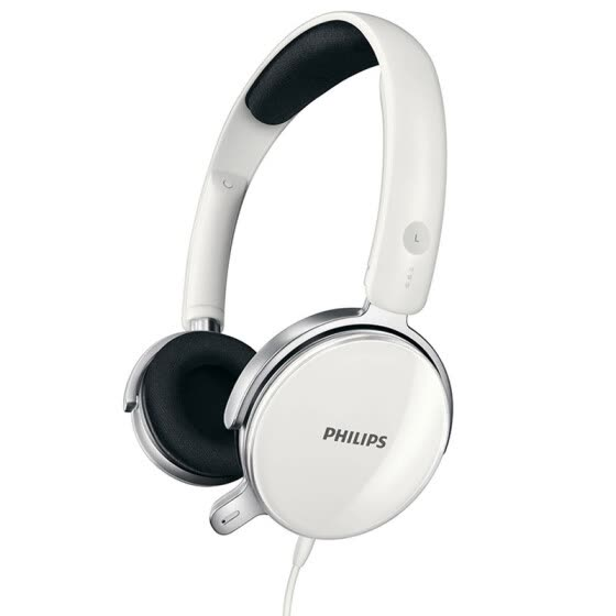 Philips SHM7110 over-ear headset,white