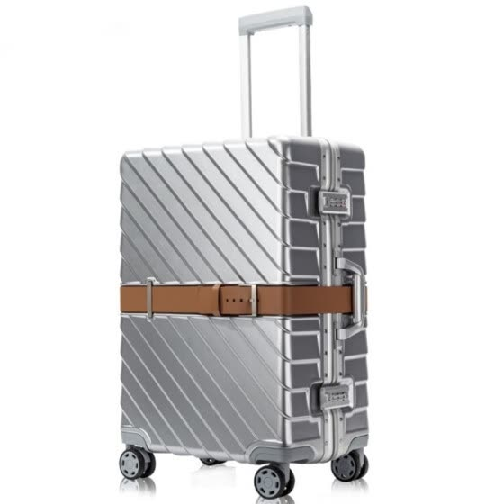 "PC Business Rolling Luggage Bags Aluminum Frame Alloy Spinner Wheels Airplane Suitcase Bag Carry Travel Trolley 20"" 24"" 28 Inch"