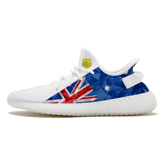 b659716861ae Fashion casual running shoes 2018 World Cup Australia men and women casual  shoes custom shoes casual