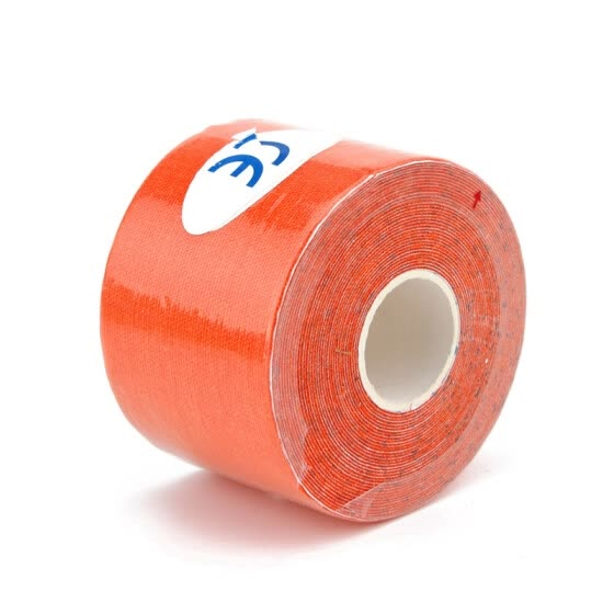 5m x 5cm Kinesiology Muscles Sports Care Elastic Physio Therapeutic Tape Orange