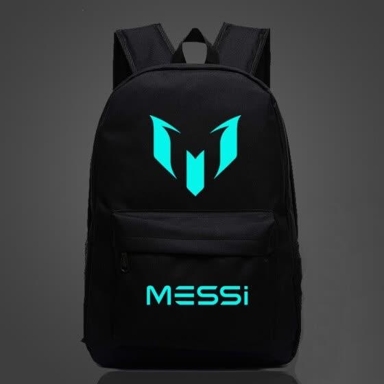 Shop Student School Backpack Messi Backpacker Teenager