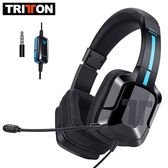 TRITTON Kama Plus Gaming Headset with Microphone for PC Computer, and Compatible for PS4,PS3, Xbox One, Nintendo Switch