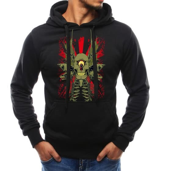 Print Brand Clothing Men Fashion Streatwear Fleece Pullover Top Quality Mens Hoodies Sweatshirts Male Youth Pullover