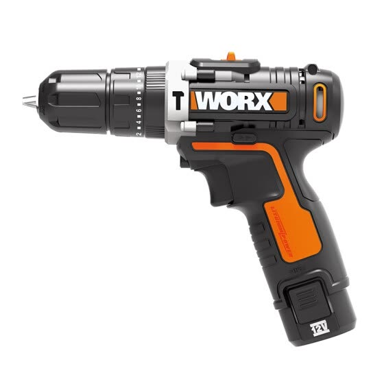 Wicks (WORX) household rechargeable impact drill WX129 double electric impact drill lithium electric hand drill electric hand drill electric screwdriver hardware electric screwdriver tool