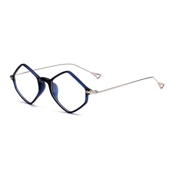 a3b9fc5966 SHAUNA Retro TR90 Diamonds Sharp Super Light Weight Women Glasses Frame  Comfortable Men Original Clear Lens