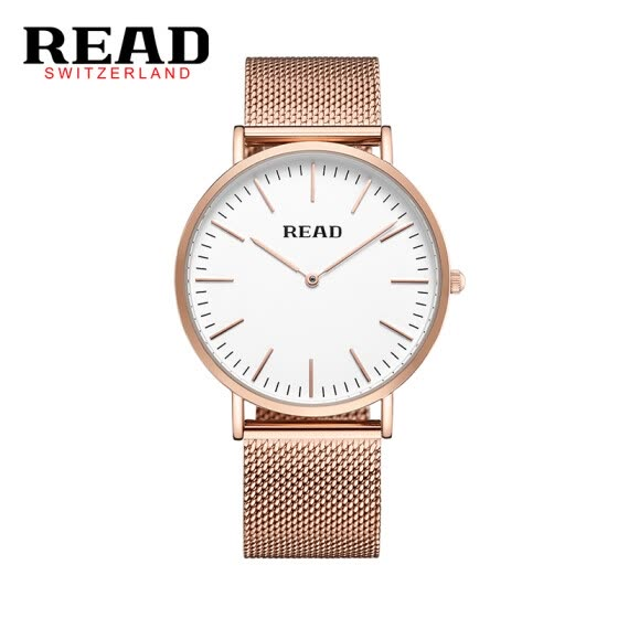 READ R2018 men's watch simple two-pin import quartz movement ultra-thin men's watch Water Resistant fashion watch & watch