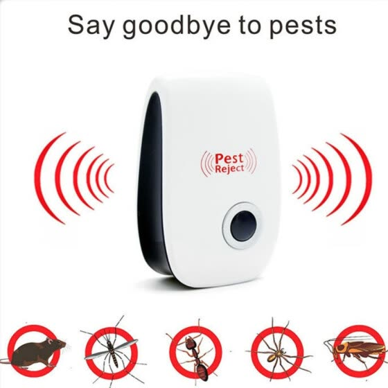 Anti Mosquito killer Rode Electronic Pest Repeller Ultrasonic Rejector Mouse Mosquito Rat Mouse Repellent UK US EU PLUG