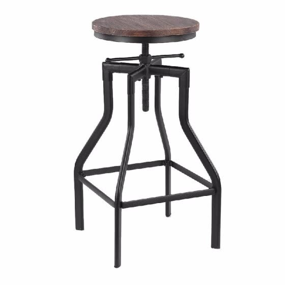 Groovy Shop Industrial Swivel Bar Stool Height Adjustable Pinewood Squirreltailoven Fun Painted Chair Ideas Images Squirreltailovenorg