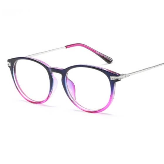 b7f4bc3ed4f Eyeglasses Glasses New Flat Light Mirror Edition Students Glasses Retro  Metal Frame And General Mirror