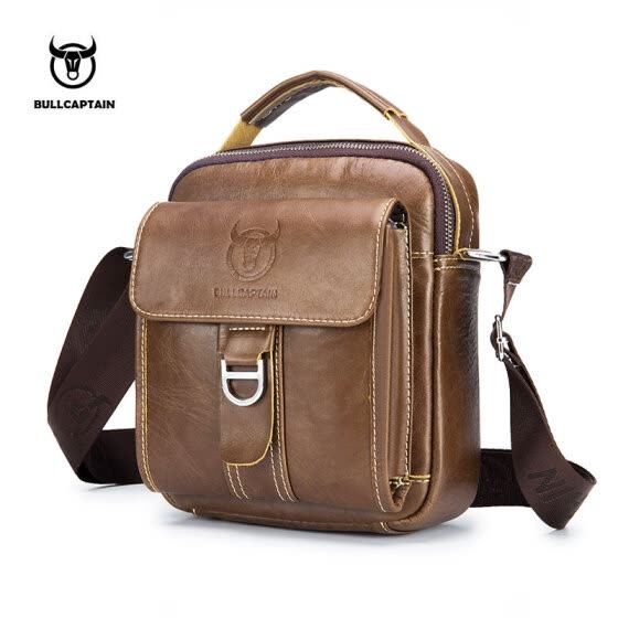 BULLCAPTAIN Men Shoulder Bag Classic Brand Men Bag Vintage Style Casual Men Messenger Bags Promotion Crossbody Bag Male Hot Sell