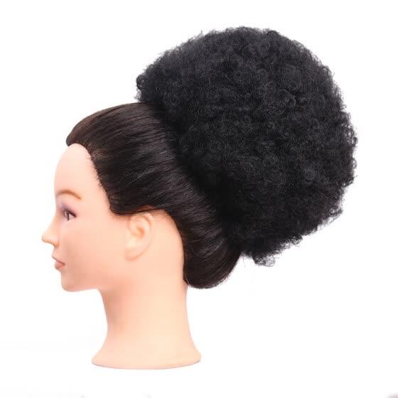 shop instant glitz synthetic drawstring ponytail retro puff medium