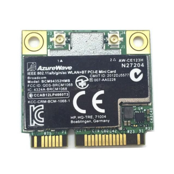 BROADCOM BCM4352HMB ADAPTER DRIVERS (2019)