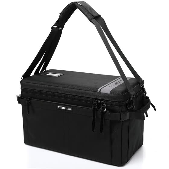The statin 8A06 upgrade load-bearing hard cash machine multi-mirror single - pack camera bag can be single and double shoulder.