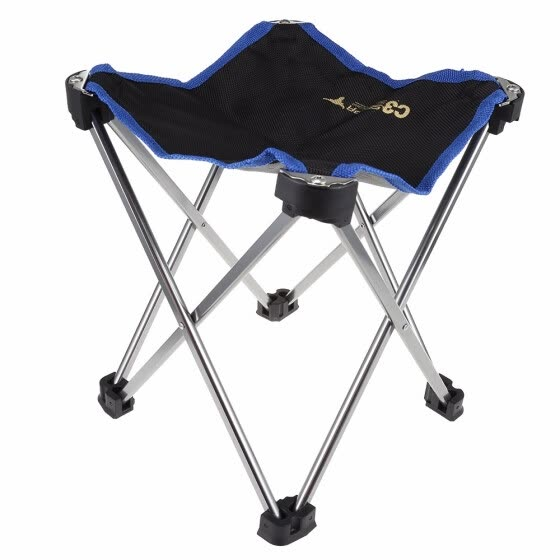 Selpa Portable Folding Chair Super Light Aluminum Alloy Fishing Camping Bench aluminum alloy and 600D composite PVC