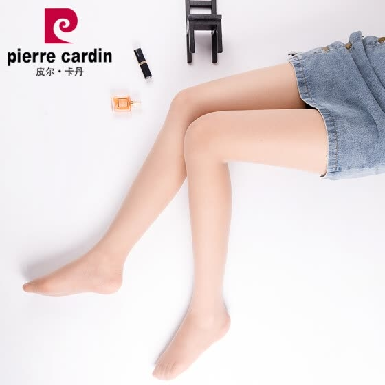28ab31503b82b Pierre Cardin stockings women's ultra-thin is not easy to hook 13D apple  hip pantyhose