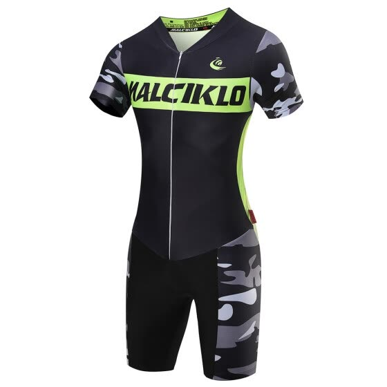 Malciklo Men's Cycling Jersey Pro Team Triathlon Suit Cycling Clothing Bike Jumpsuit Maillot Cycling Sets Ropa Ciclismo