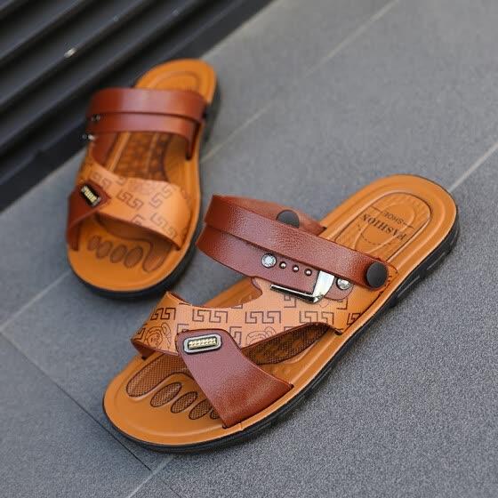 Sandalias Romanas Súper De Moda Hombres Zapatillas Las Ligero QtshrdCxB