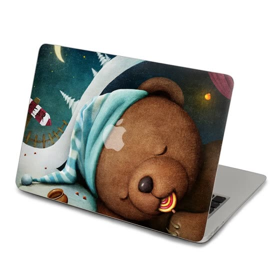 GEEKID@macbook Pro 15 decal stickers bear macbook pro Top skin macbook Retina 13 decal stickers air sticker macbook Air decal