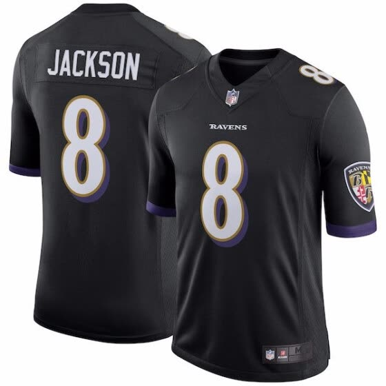Men s Baltimore Ravens Lamar Jackson Nike Purple 2018 NFL Draft First Round  Pick  2 Game 9c92509f5
