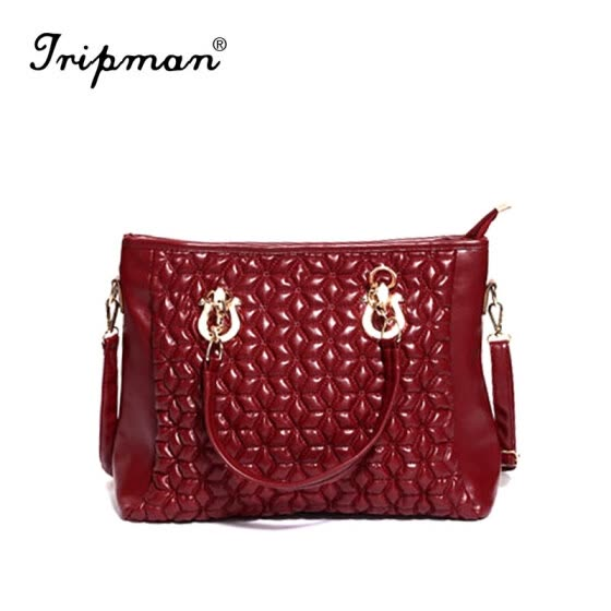 Tripman New Embossing Women crossbody shoulder bag Luxury Women messenger bag Fashion Mom handbag Brand Women tote