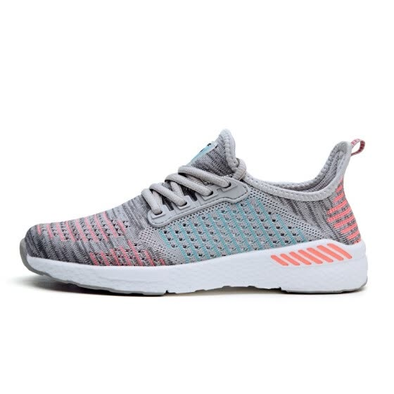Women's Running Shoes Summer Outdoor Sport Athletic Sneakers Women Walking Mesh Flywire Lace Up Shoe Flats