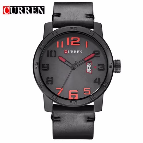 Curren 2017 men watches relogio masculino luxury military wristwatches fashion casual quartzwatch water Resistant calendar 8254