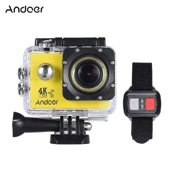Shop Andoer AN4000 4K 30fps 16MP WiFi Action Sports Camera