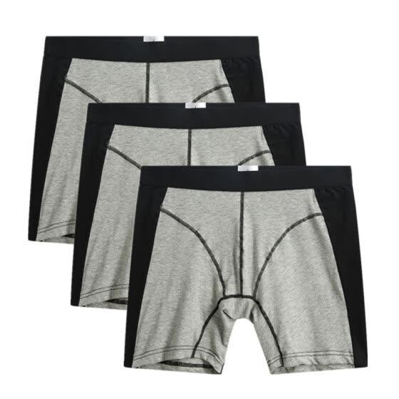 8dcbbdef2 2018 Cuecas Calzoncillos 3pcs lot Men s Boxer Underwear Pants Cotton Men  Shorts Loose Calecon Pour