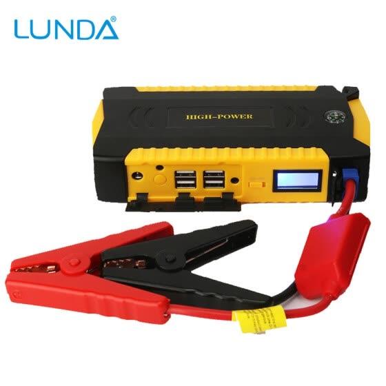 Shop Lunda 600a Peak Current Portable Car Jump Starter Charger Power