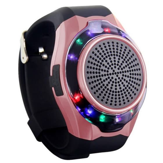 With LED Bluetooth Music Speakers Without Display Screen Alarm Clock Hands-free Selfie Photo Multi-function TF Card Sport Watch