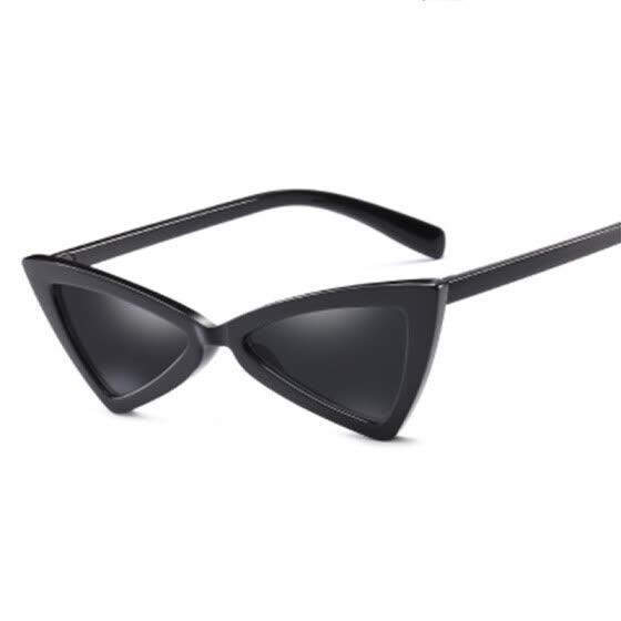 3a19b41479 Fashion Cat Eye Sunglasses Women men triangle frame Sun Glasses women Retro Eyewear  UV400 gafas de