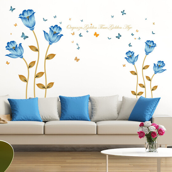 Romantic  Love Heart PVC Wall Stickers Decal DIY Home Bedroom Art  Decoration YZ