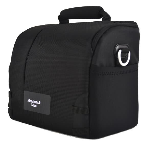 MatchstickMen HK02 Shoulder Digital Camera Bag (Black)