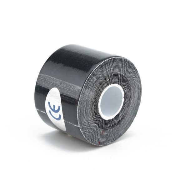 5m x 5cm Kinesiology Muscles Sports Care Elastic Physio Therapeutic Tape Black