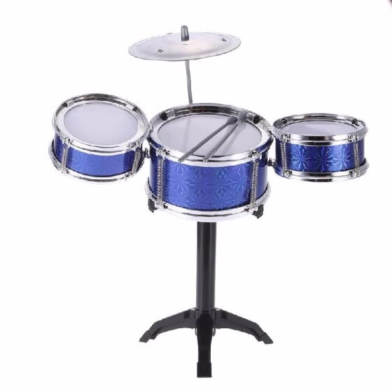 Shop Children Kids Desktop Drum Set 3 Drums Musical Instrument Toy