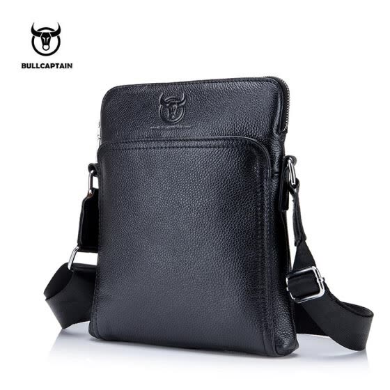 4058282a78f1 BULLCAPTAIN New Fashion Brand Men Bag Genuine Leather Messenger Bag  Business Casual Briefcase Crossbody bag male