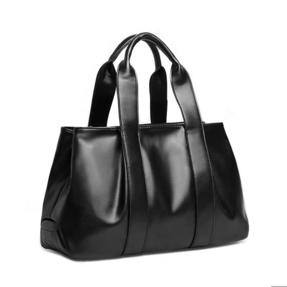cc3586b56597 2015 new black tote bag women leather handbags high quality brand female  bag vintage solid messenger