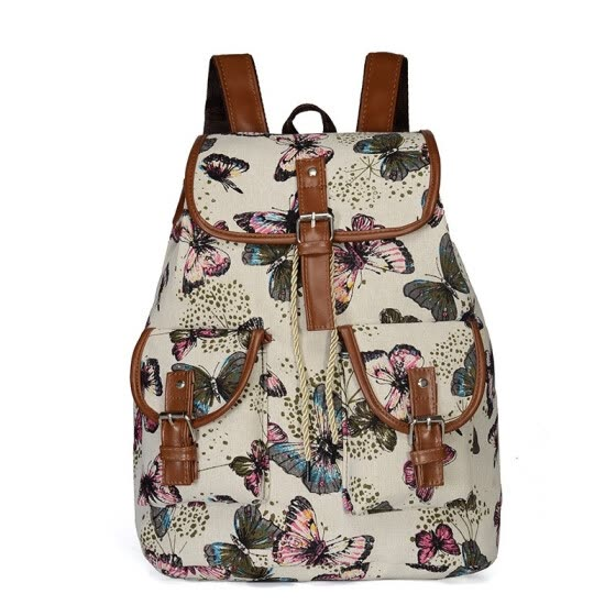 af830244b4 New Fashion Canvas Backpack Women s Casual Life Travel with this Backpack