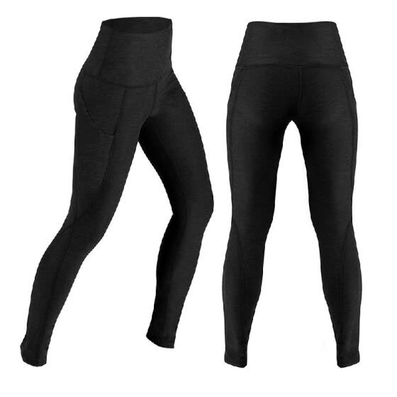 c06e542e1e8ba Women s High Waist Yoga Pants Tummy Control Workout Running 4 Way Stretch Yoga  Leggings Tights with
