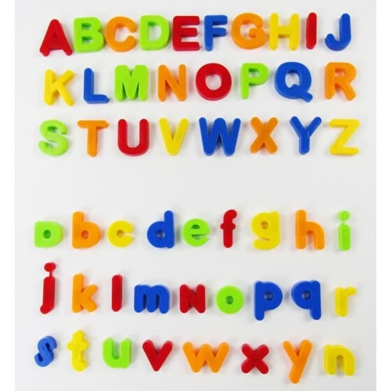 80 PCS Magnetic Learning Letters Numbers,Educational Toddlers Toys for Preschool Learning,Spelling,Counting